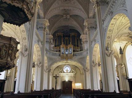 Der Ökumenische Kreis besuchte auch die Andreaskirche.