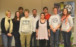 Der neue Vorstand des Grevenbroicher Jugendferienwerks.