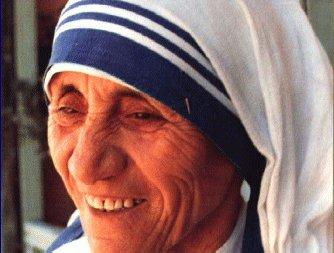 Hinweis zur Spendeneinwerbung mit dem Namen Mutter Teresas