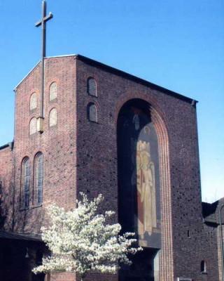 St. Barbara, Neuss-Barbaraviertel