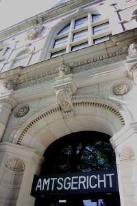 Das Amtsgericht in Neuss bleibt ohne Kreuz. Foto: TZ