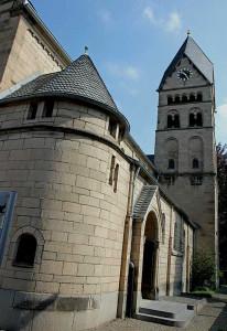 Vor 100 Jahren eingesegnet: St. Sebastianus in Hülchrath. Foto: TZ