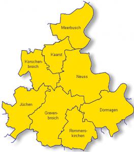 Dekanate im Rhein-Kreis Neuss werden neu geordnet