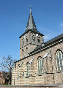 Die Nettesheimer Kirche ist von Einbrechern heimgesucht worden. Foto: TZ
