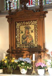 Der Marien-Altar in der Nettesheimer Martinuskirche. Foto: TZ