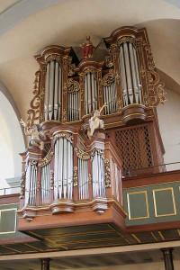 Die Sauer-Orgel in der Nievenheimer Kirche. Foto: TZ