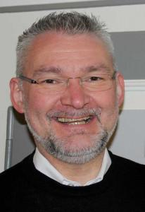 Pfarrer Peter Stelten sprach beim Neujahrsempfang. Foto: TZ