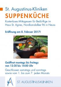 St. Augustinus-Kliniken führen Suppenküche der Alexianer-Brüder fort