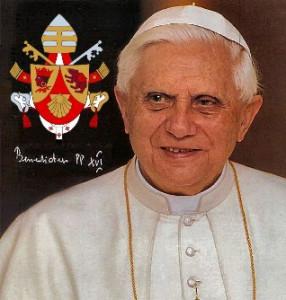 Viel Glück und viel Segen! - Geschenk für Papst Benedikt