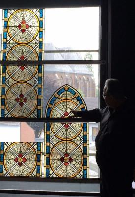 Die Fenster wurden jetzt auf der Baustelle entdeckt.