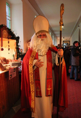 Der Nikolaus aus dem Nikolauskloster.
