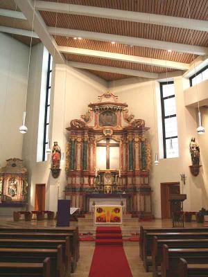 Vor 30 Jahren geweiht: St. Georg in Neu-Elfgen. Foto: TZ