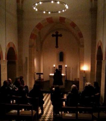 Friedensgebet in Alt-St. Martin