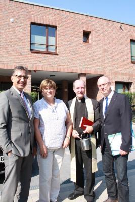 Angekommen – St. Augustinus-Behindertenhilfe weiht Haus St. Martha feierlich ein