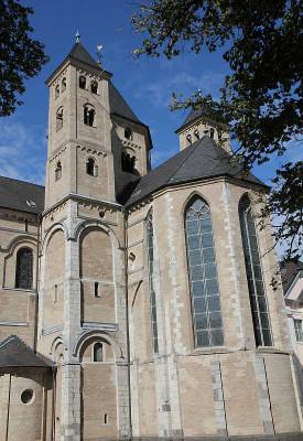 Das Kloster Knechtsteden und seine Basilika öffnen ihre Pforten. Foto: TZ