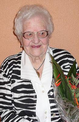 Maria Cremers feierte ein seltenes Jubiläum.