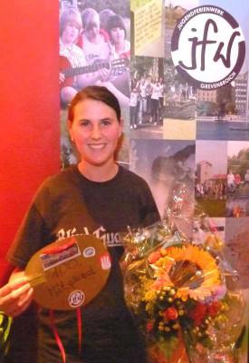 Melanie Klug ist das 100. Mitglied im Jugendferienwerk.