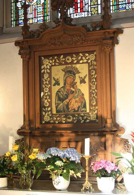 Der Maria-Hilf-Altar in der Nettesheimer Kirche. Foto: TZ