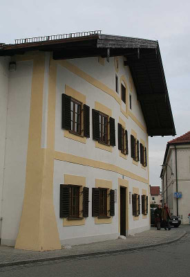 Das Papst-Haus in Marktl am Inn. Foto: TZ