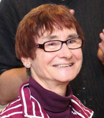 Ursula Schremmer bekam das Caritas-Ehrenzeichen in Gold.