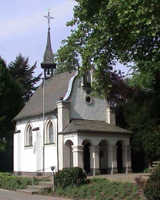 Erinnerung an die Wüstenväter - Die Wallfahrtskapelle St. Antonius in Schlicherum besteht seit 375 Jahren