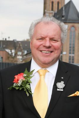Pfarrer Hans-Günther Korr - hier als Präses der Further Schützenbruderschaft (Foto: Fabian Franken)