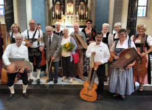 Jubiläumskonzert in St. Martinus: Die Zonser Stubenmusi beging ihr 25-jähriges Bestehen.
