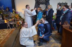 Die Tauferinnerungsfeiern in der Kirche des Nikolausklosters sind stets gut besucht.