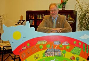 Raphaelshaus-Direktor Hans Scholten plant eine Gruppe für Flüchtlinge. Foto: TZ