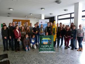Die Fairtrade-Schülerfirma in Knechtsteden hat eine positive Bilanz gezogen.