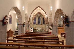 Die Kirche St. Stephanus in Hoeningen wurde erfolgreich renoviert. Foto: TZ