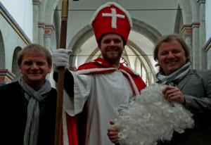 Paveier geben Adventskonzert in der Knechtstedener Basilika