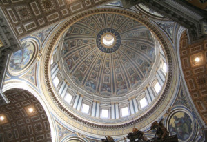 Kuppel des Petersdoms: Das Jugendferienwerk reist nach Rom. Foto: TZ