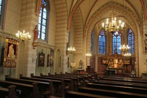 Erstrahlt jetzt innen wie außen im besten Glanz: St. Agatha in Straberg. Foto: TZ