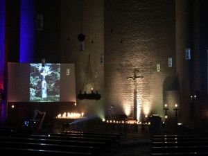 In der Pfarrkirche St. Michael endete die TheoCaching-Aktion in Dormagen.