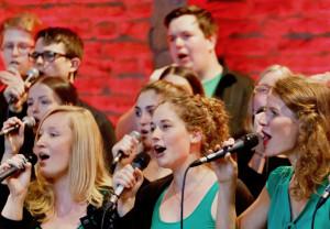 TonArt heißt die neue Gemeinschaft im Dormagener Chorhaus St. Michael. Foto: Peter Gottselig