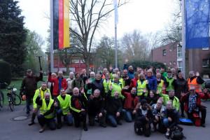 Die Tour ins Licht endete am katholischen Jugendhilfezentrum Raphaelshaus in Dormagen.