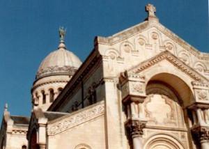 Ziel der Pilger: die Basilika St. Martin in Tours. Foto: TZ