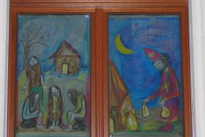 Adventsfenster in Hl. Dreikönige und St. Pius