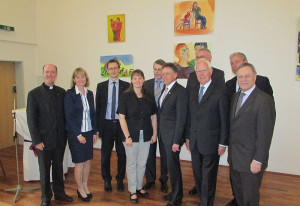 Zahlreiche Gäste kamen zur Caritas-Feier in Dormagen.