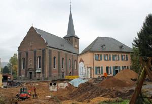 Frimmersdorfs Pfarrheim wurde abgerissen. Foto: TZ