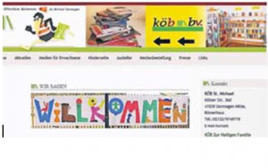 Die Büchereien informieren im Internet