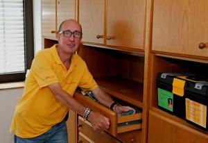 Norbert Pfitzner ist Alltagshelfer in Kapellen. Foto: TZ