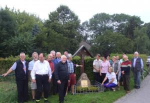 Die Nettesheimer Pilger in Kleinenbroich.
