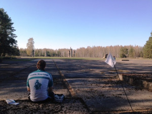 Team-Raphael-Mitglied in Salaspils.