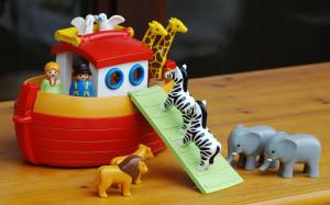 Kinderbibelwoche im Familienzentrum: Noahs Arche