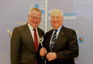 Cornel Hüsch (links) und Thomas Nickel. Foto: TZ