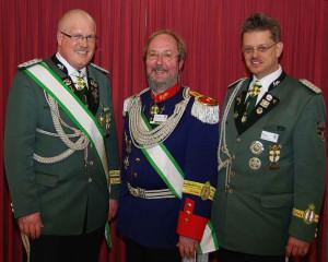Robert Hoppe, Wolfgang Kuck und Michael Pfankuch (v. l.)