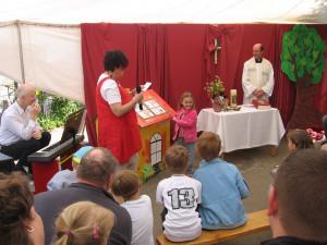 Ein Gottesdienst mit Kreisdechant Guido Assmann eröffnete den Tag der offenen Tür.