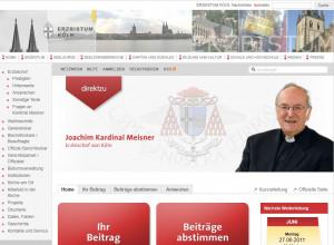 Direkt zum Kardinal per Internet